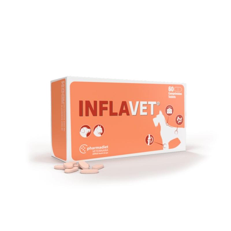INFLAVET, 60 tablete imagine