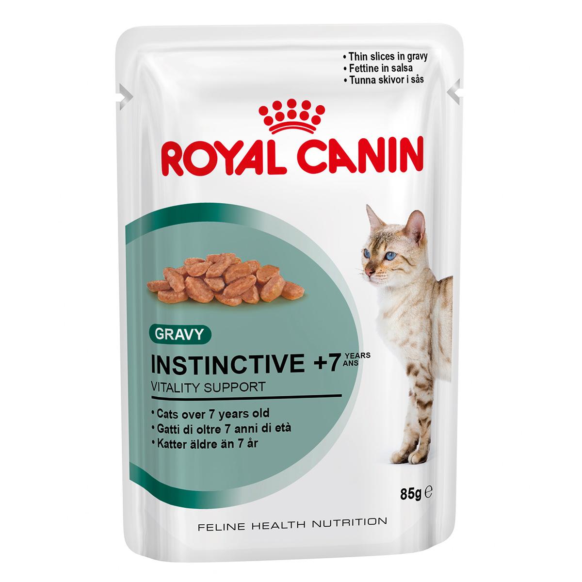 Royal Canin Feline Instinctive (7+), 1 plic x 85 g imagine