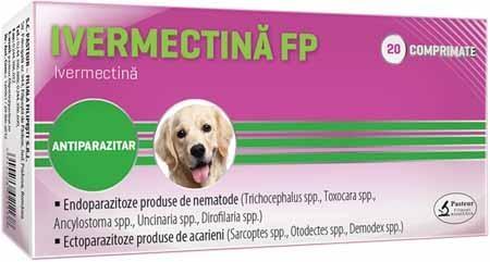 Ivermectina Pasteur FP 100 cpr imagine