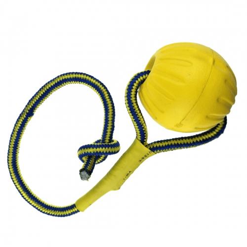 Jucarie sfoara cu minge pentru caini, Enjoy, 48 cm imagine