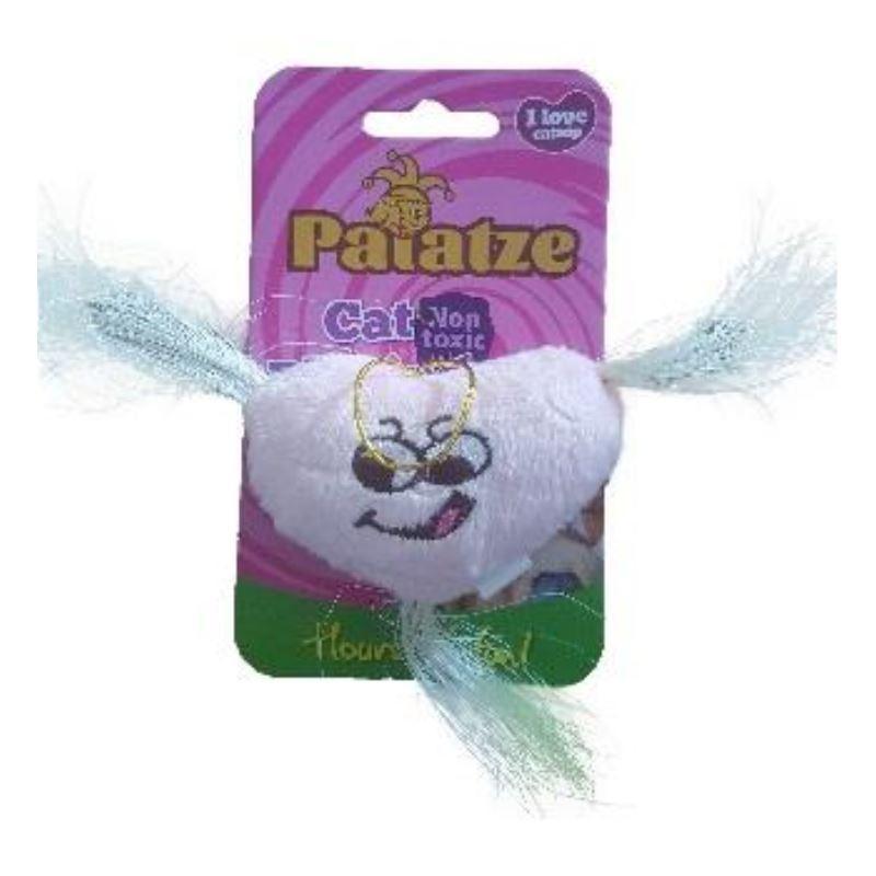 Jucarie Paiatze Cat plus, roz, 7 cm imagine