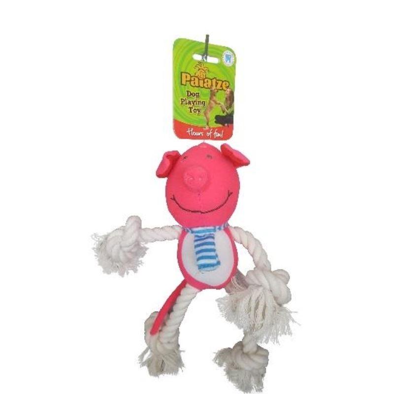 Jucarie Paiatze Dog Porcusor, roz, 30 cm imagine