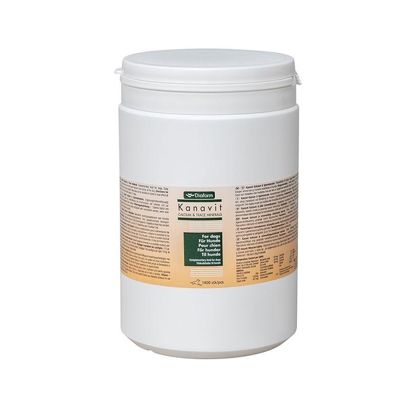 Kanavit Calciu & Trace mineral, 1400 tablete imagine