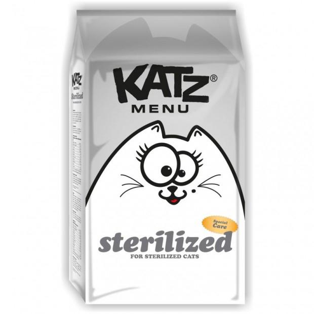 KATZ Menu Sterilized, 2 kg imagine