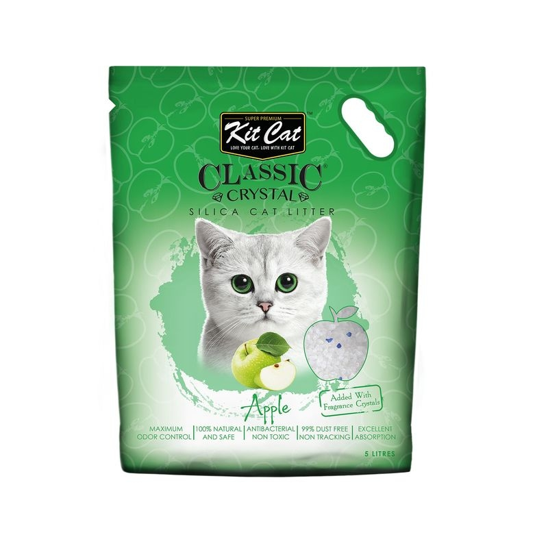 Kit Cat Classic Crystal Apple, 5 l imagine