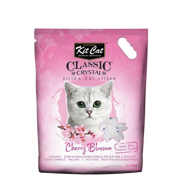 Kit Cat Classic Crystal Cherry Blossom, 5 l imagine