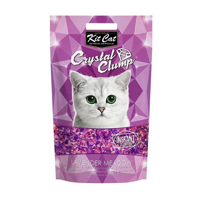 Kit Cat Crystal Clump Lavender Meadow, 4 l imagine