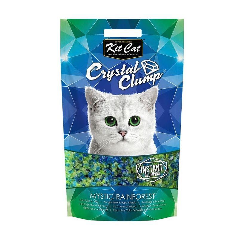 Kit Cat Crystal Clump Mystic Rainforest, 4 l imagine