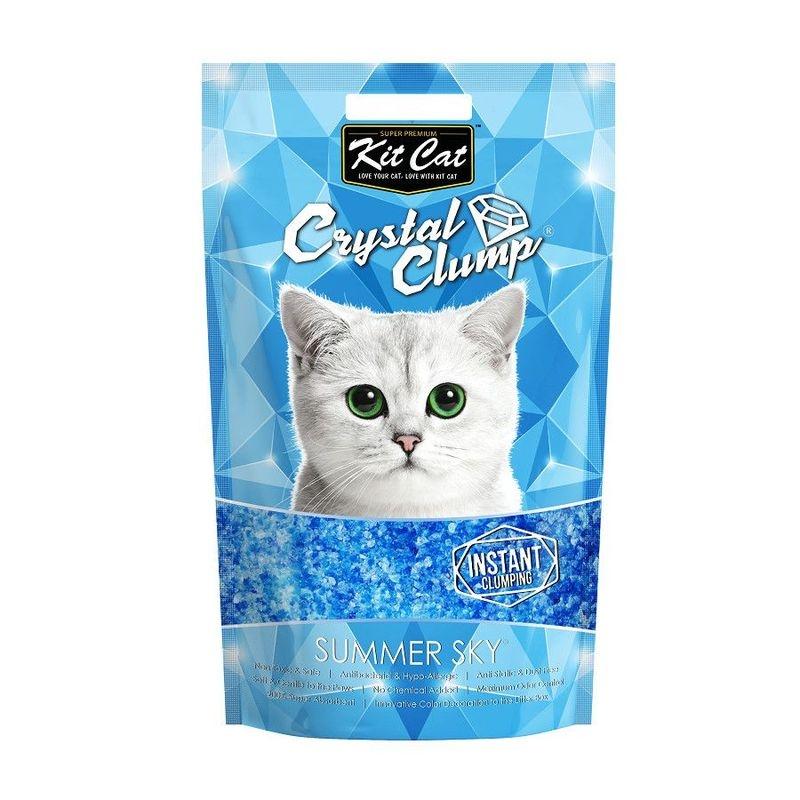 Kit Cat Crystal Clump Summer Sky, 4 l imagine
