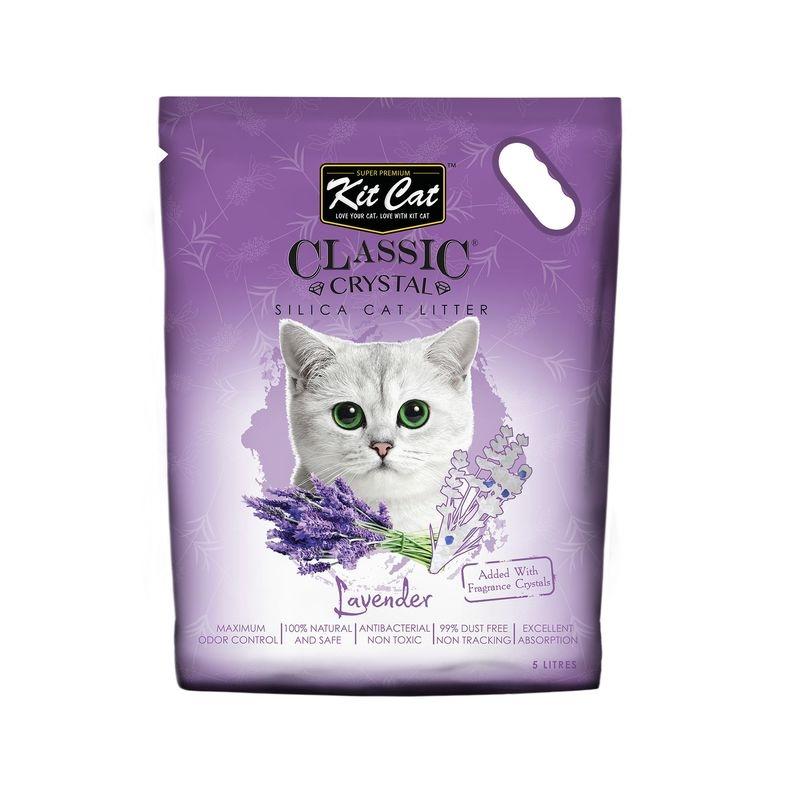 Kit Cat Classic Crystal Lavender, 5 l imagine