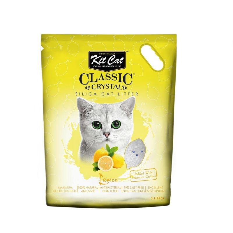 Kit Cat Classic Crystal Lemon, 5 l imagine