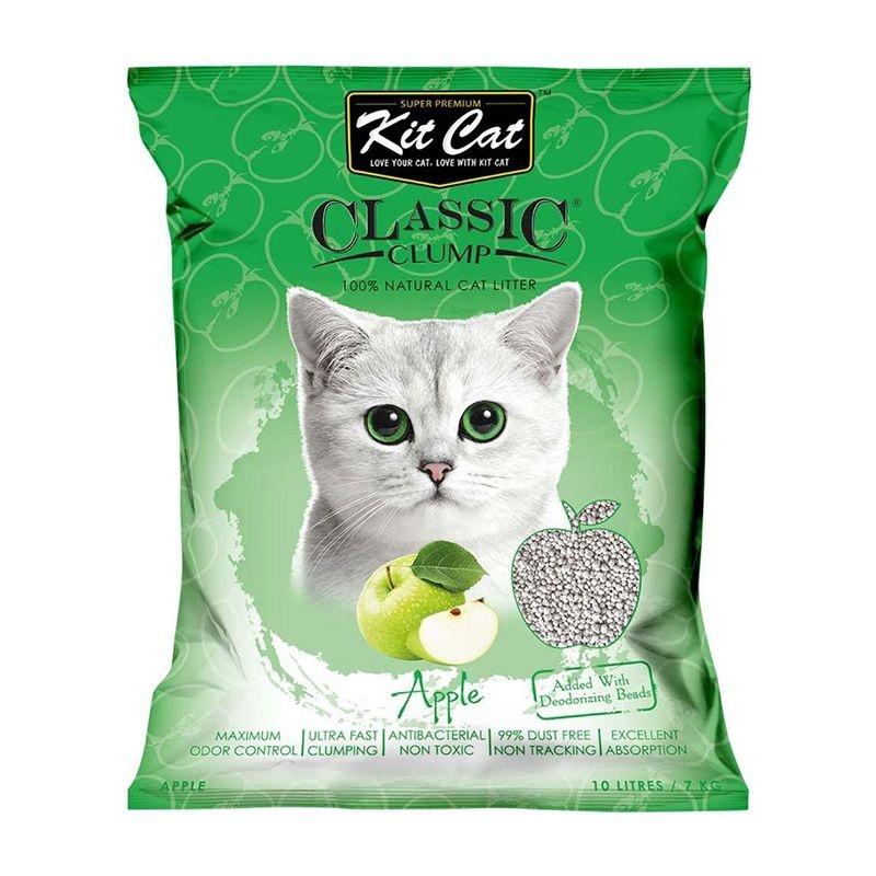 Kit Cat Classic Clump Apple, 10 l imagine