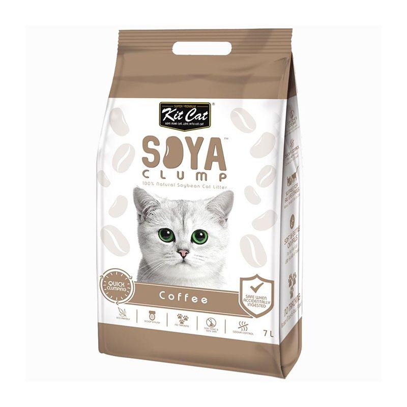 Kit Cat Soya Clump Coffe, 7 l imagine