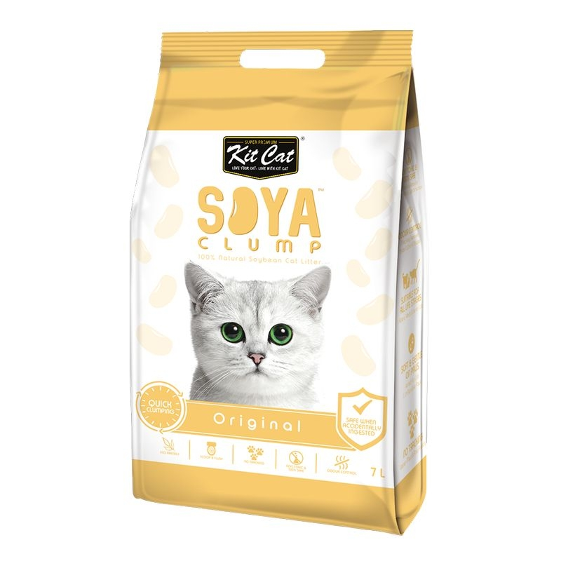 Kit Cat Soya Clump Original, 7 l imagine