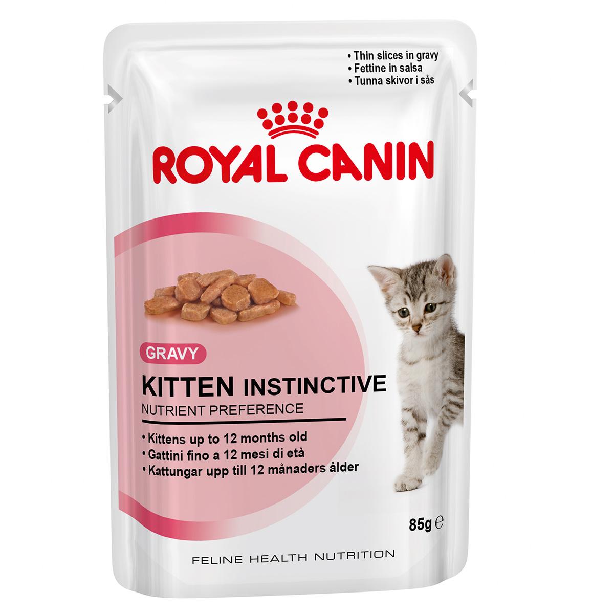 Royal Canin Kitten Instinctive, 1 plic x 85 g imagine