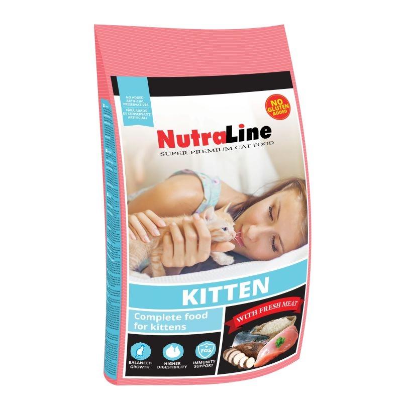 Nutraline Cat Kitten, 1,5 Kg imagine