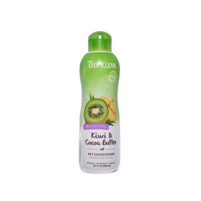 Balsam pentru caini si pisici, Tropiclean Kiwi & Cocoa Butter, 592 ml imagine
