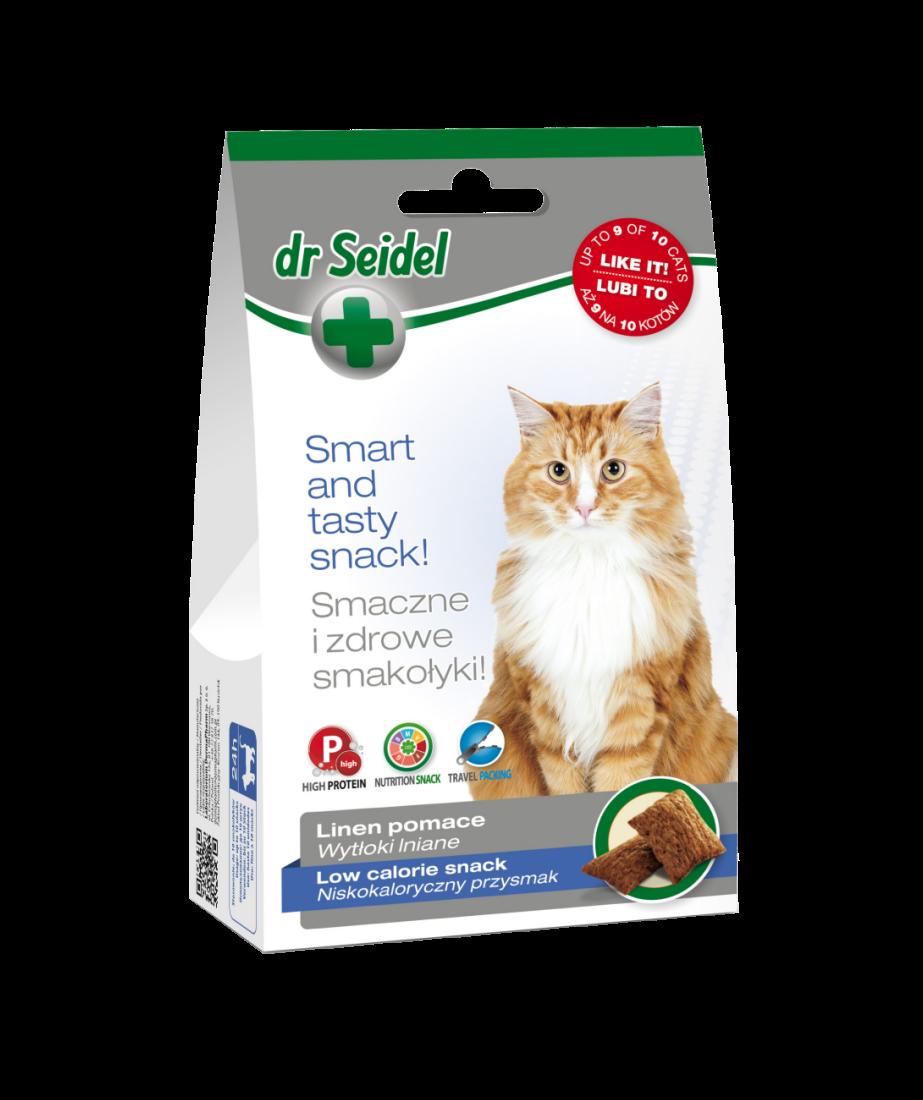 Dr. Seidel, Cat Snack Low Calorie, 50 g imagine