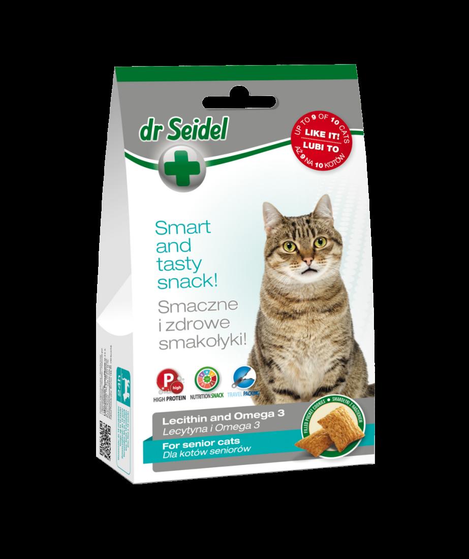 Dr. Seidel Cat Snack pentru seniori, 50 g imagine