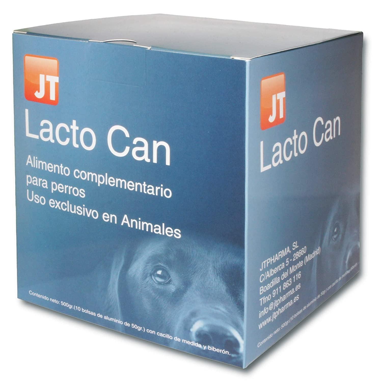JT- LACTO CAN CAINI LAPTE PRAF PLICURI 10 X 50 G imagine
