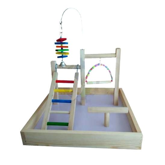 Ansamblu de joaca pentru pasari, 43x43x30 cm imagine