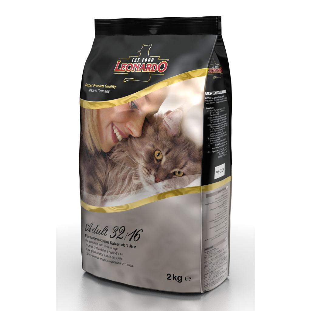 Hrana Pisica Leonardo Adult 32 2 Kg imagine
