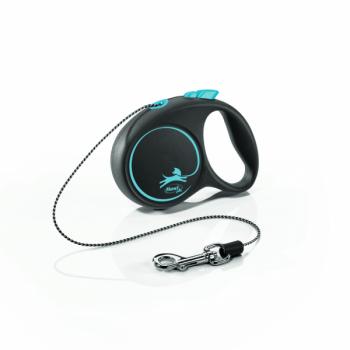 Lesa caini cu snur, Flexi Design XS, albastra, 3 m imagine