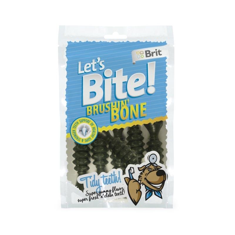 Brit Care Let's Bite Brush Bone 90 g imagine