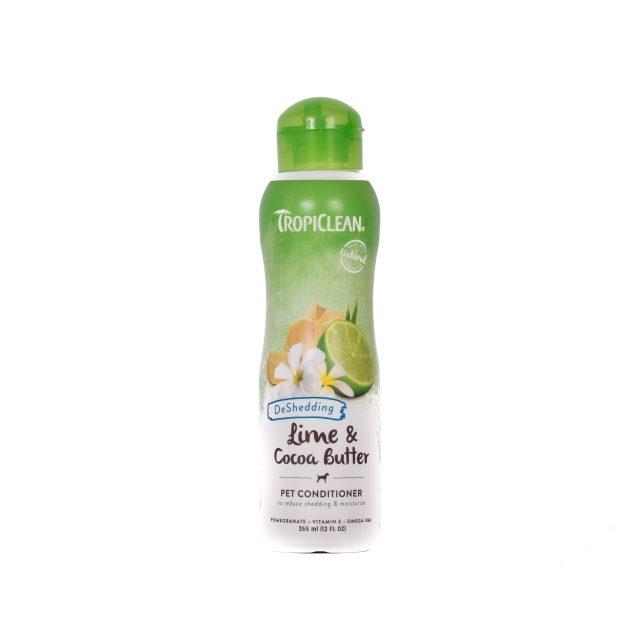 Balsam pentru caini si pisici, Tropiclean Lime & Cocoa Butter, 355 ml imagine