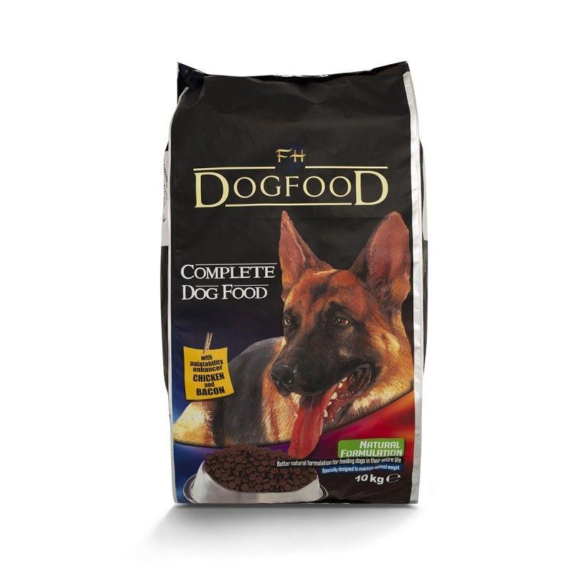 Ljubimetz Dog Adult Pui & Bacon, 10 Kg imagine