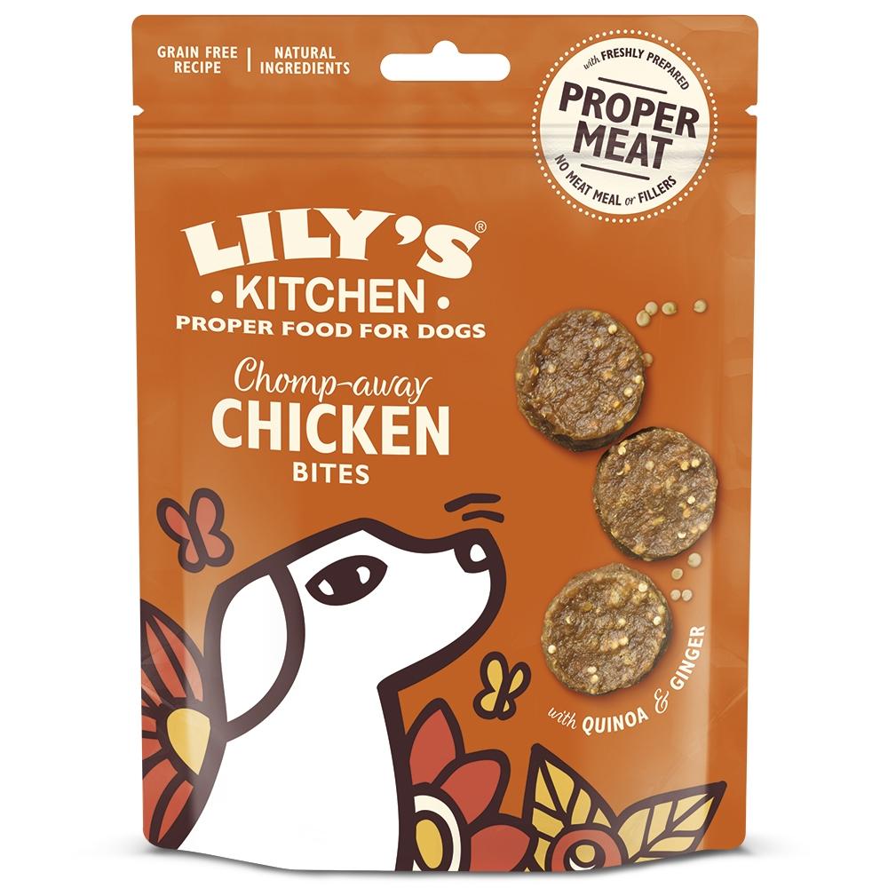 Recompense caini, Lily's Kitchen, Chomp-Away Chicken Bites, 70 g imagine