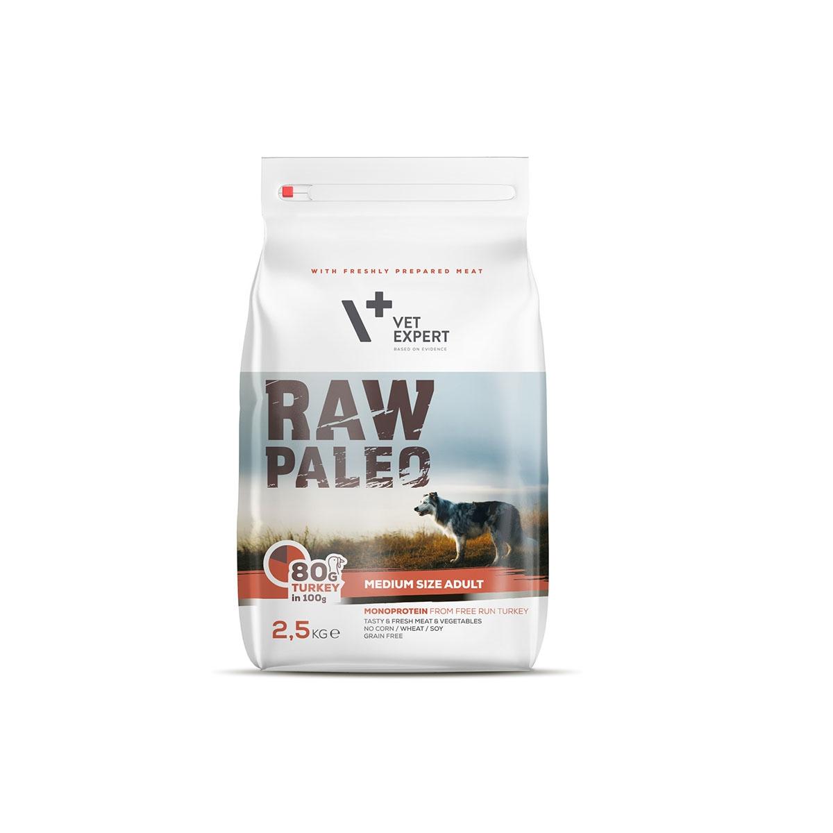 Imagine Hrana Uscata Raw Paleo Adult Rase Medii 2.5 Kg