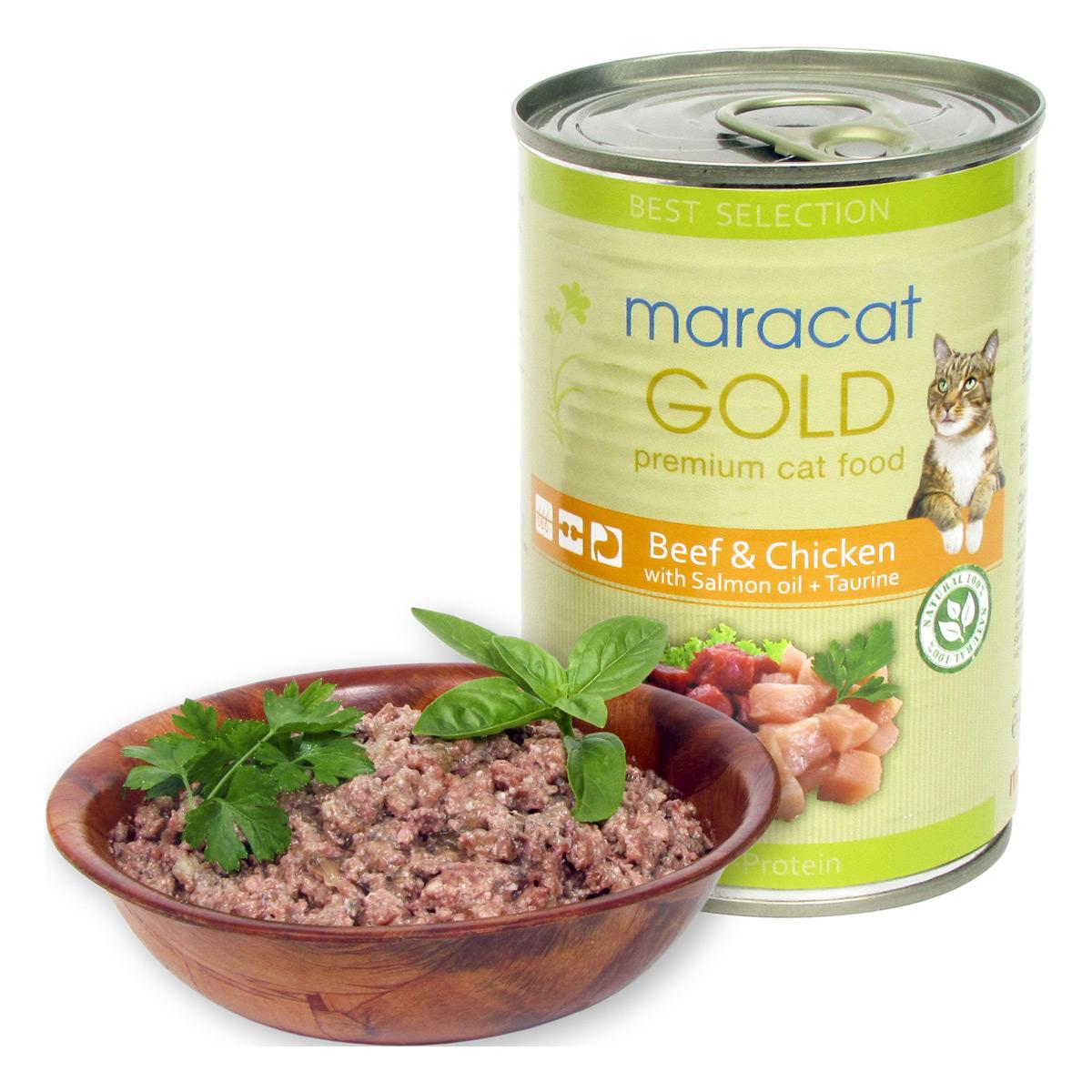Maracat Gold Vita Si Pui, 400 G