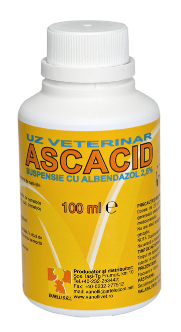 ASCACID 2.5%, 100 ml imagine