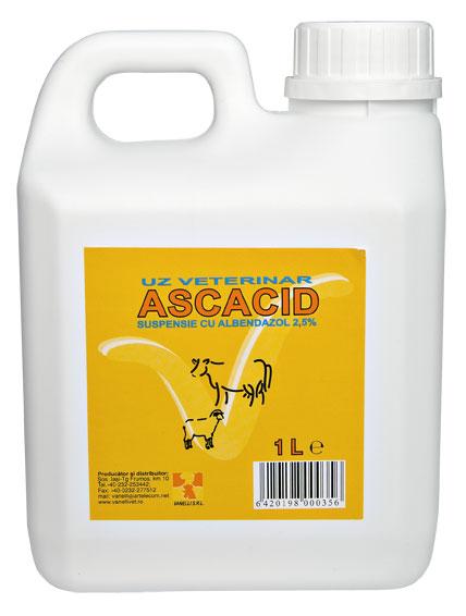 ASCACID 2.5%, 1 l imagine