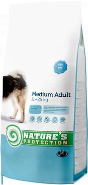NATURES PROTECTION MEDIUM ADULT 12 KG (DOG) imagine