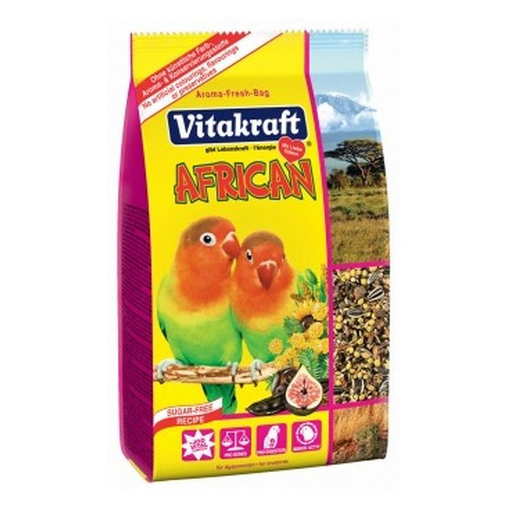 Meniu Agapornis African Vitakraft 750 g imagine