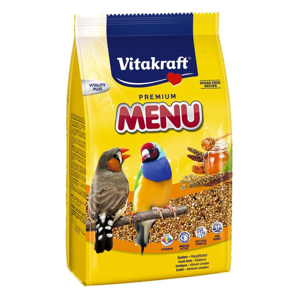Hrana pentru pasari exotice, Vitakraft Premium Menu, 500 g imagine