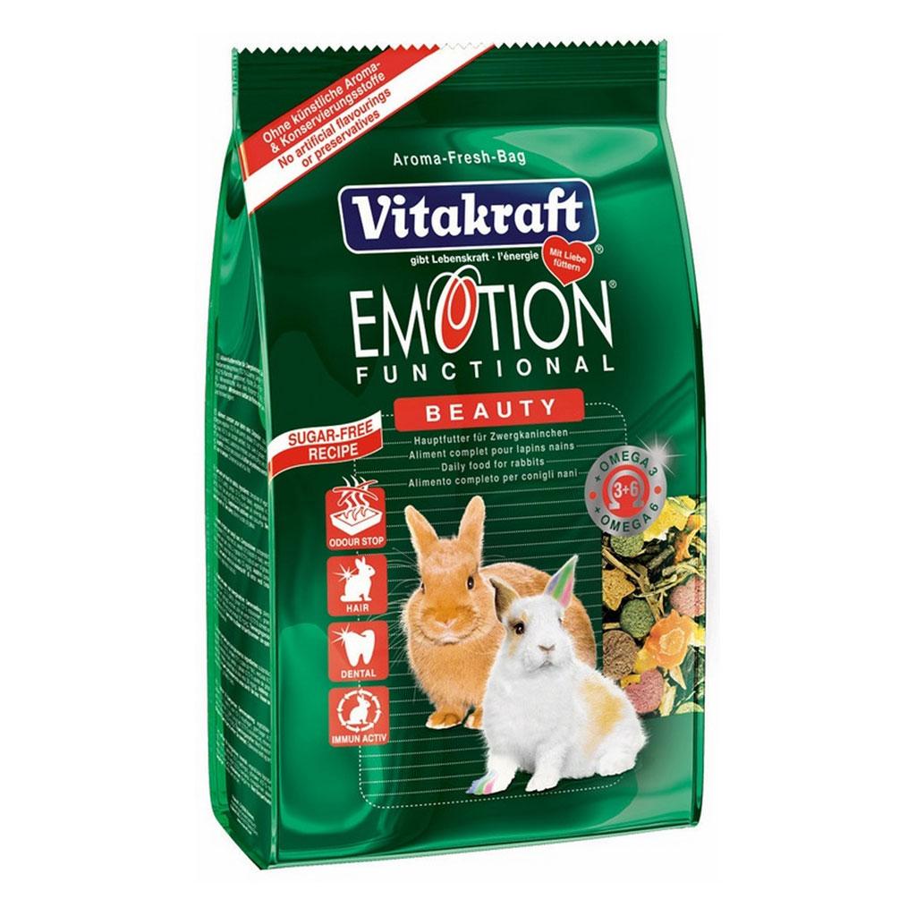 Meniu Iepuri Vitakraft Emotion Beauty 1.8 kg imagine