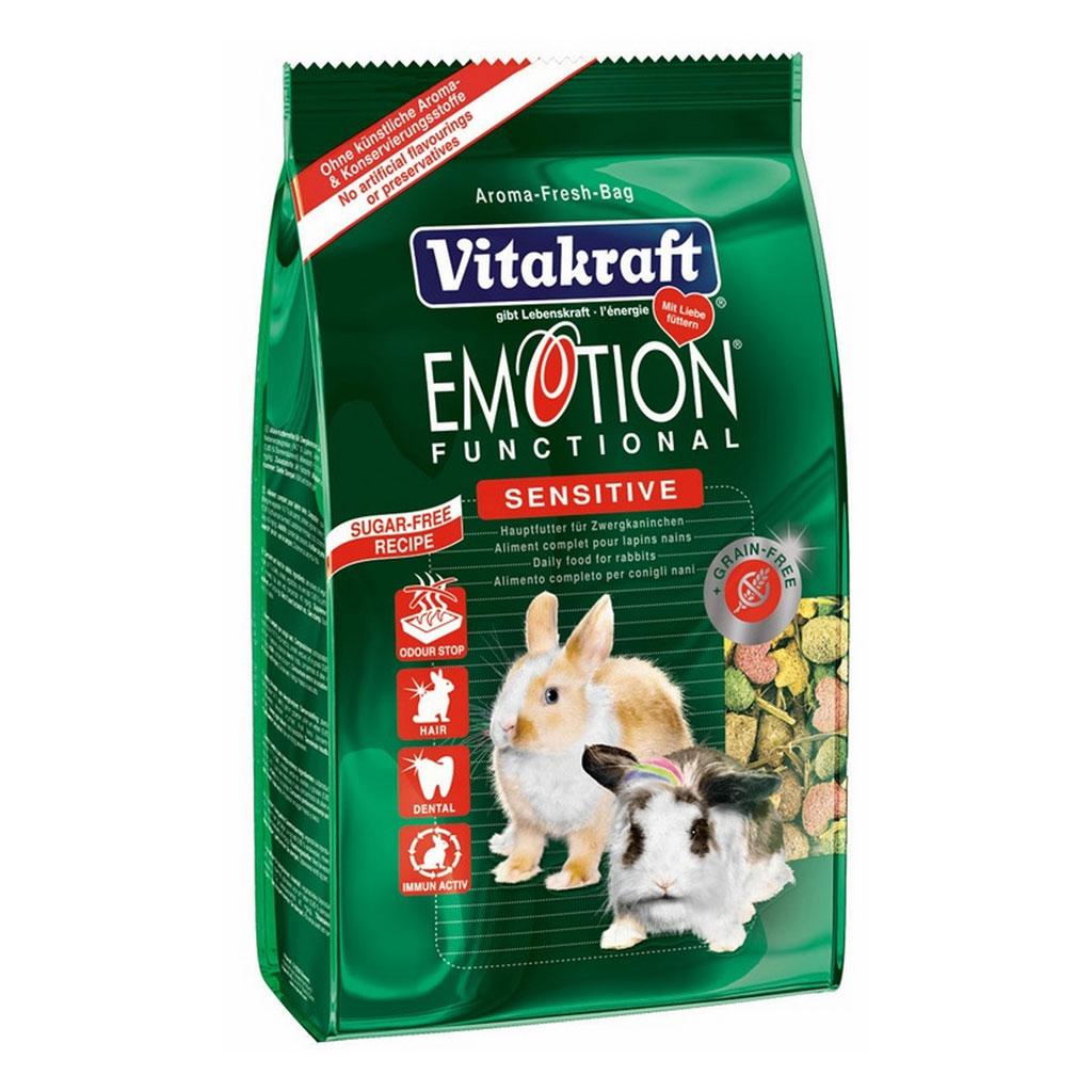 Meniu Iepuri Vitakraft Emotion Sensitive 600 g imagine