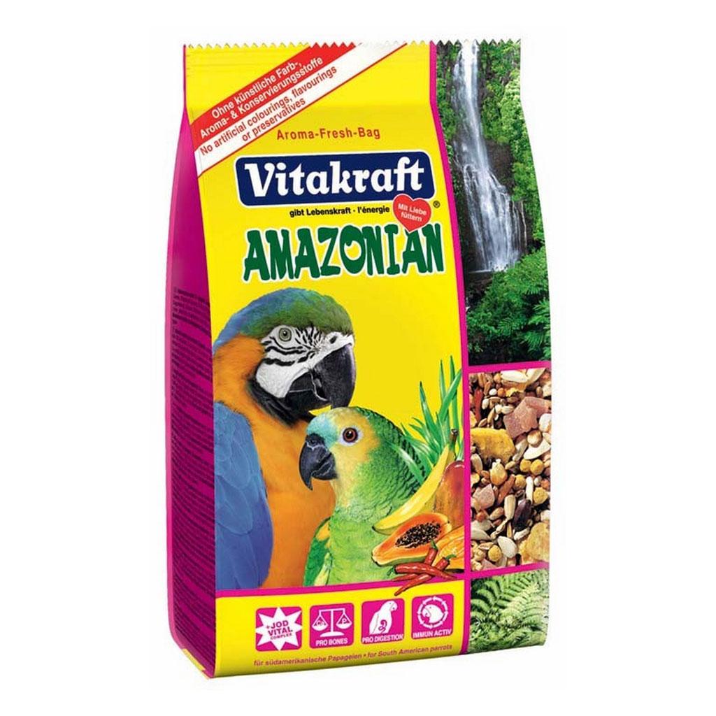Meniu Papagali Vitakraft Amazonian 750 g imagine