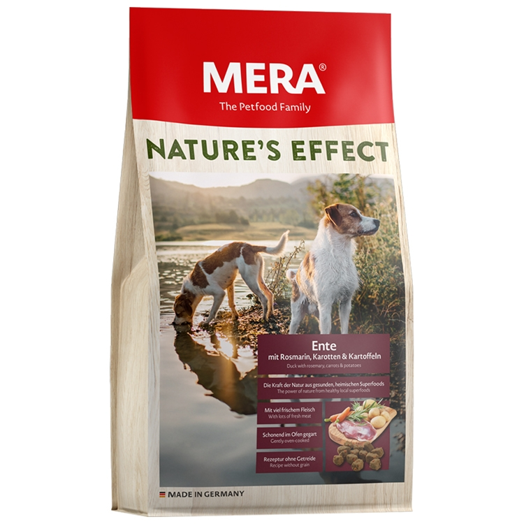 Hrana uscata caini, Mera, Nature's Effect Adult, Rata, 10kg imagine