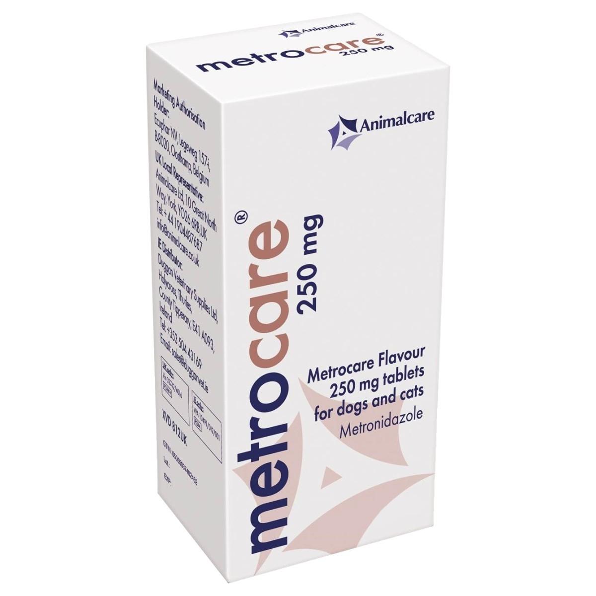Metrocare, 250 mg/ 250 tablete imagine