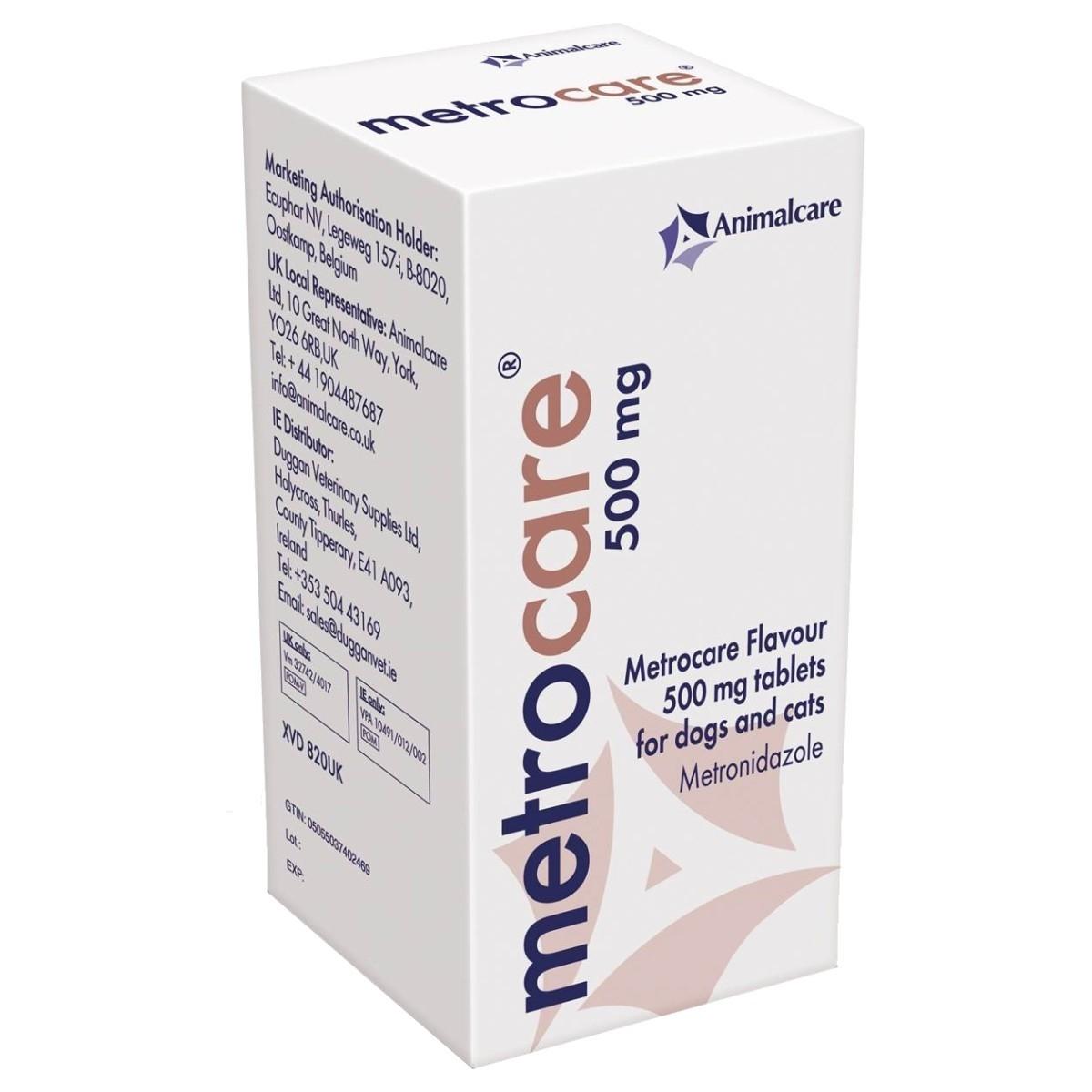Metrocare, 500 mg/ 10 tablete imagine