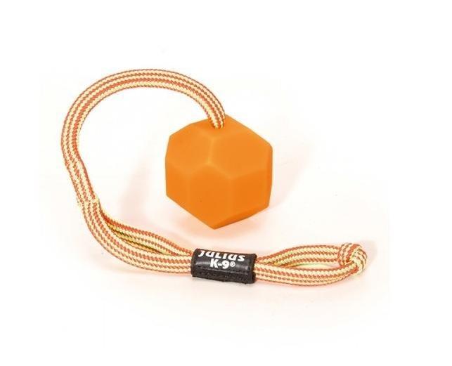 Minge IDC silicon cu sfoara si maner, portocalie, 60 mm imagine