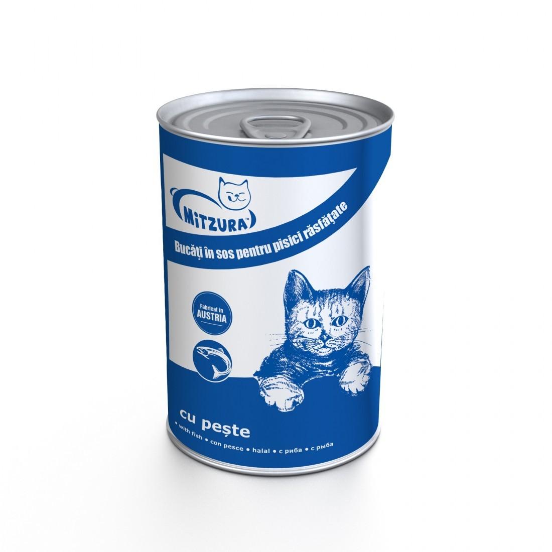 Mitzura Cat Cons Peste, 415 G imagine