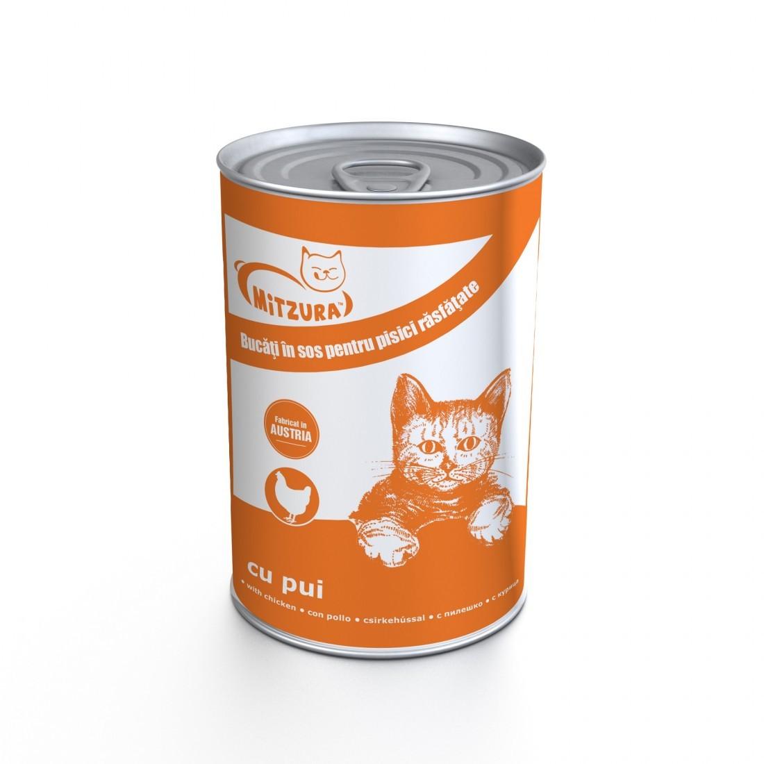 Mitzura Cat Cons Pui, 415 G imagine