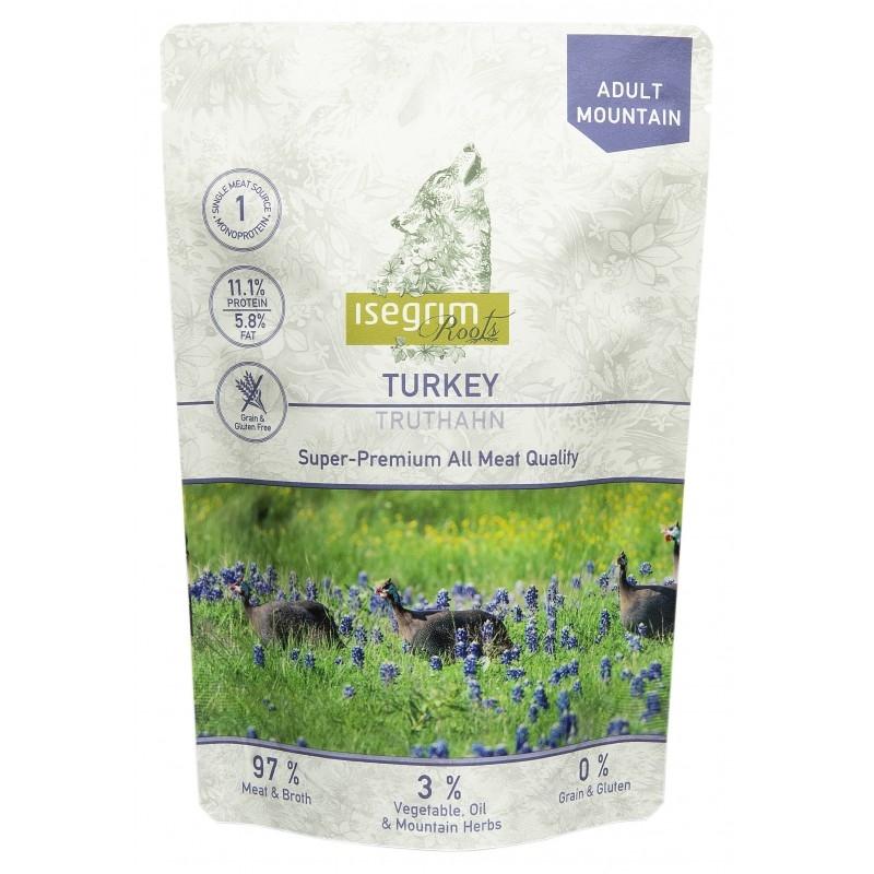 Hrana umeda, Pouch Isegrim Dog Adult Turkey, 410 g imagine