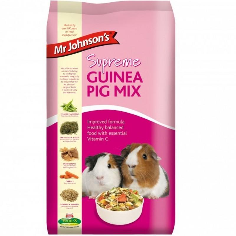 Mix pentru porcusorii de Guineea, Mr. Johnson`s Supreme Guinea Pig Mix, 900 g imagine