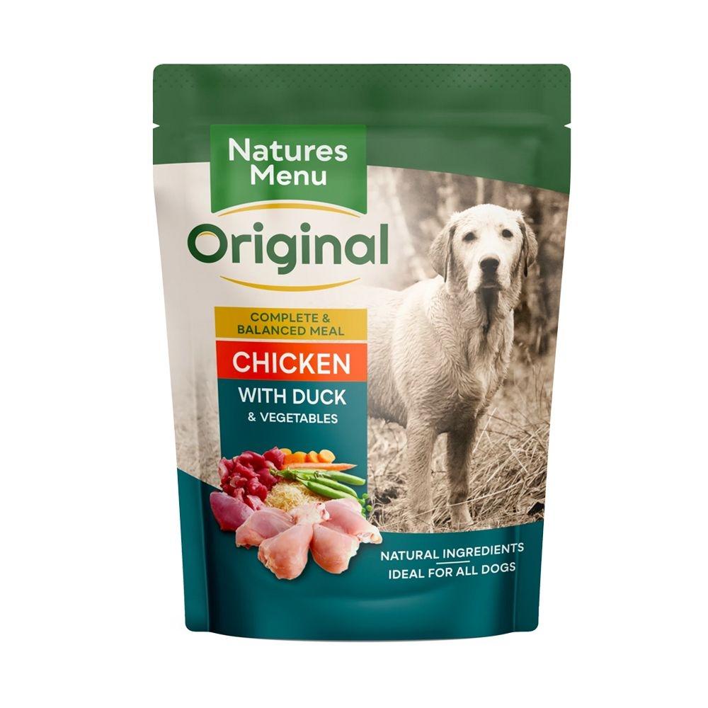Natures Menu Dog Chicken & Duck, 300 g imagine